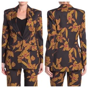 NWT A.L.C. Vernay Floral wool/cotton jacket blazer